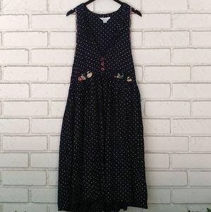 Vintage Duster Maxi Dress
